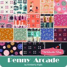 Penny Arcade Fat Quarter BundleKimberly Kight for Cotton + Steel Fabrics - Fat Quarter Bundles | Fat Quarter Shop