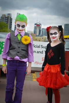 Lil' Joker and Harley