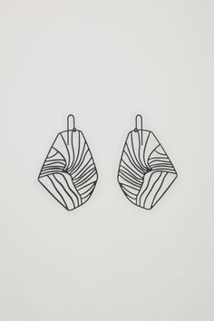 ABSTRACT CUT-OUT EARRINGS