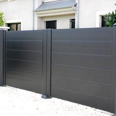 Un portail épuré pour un effet moderne  JaimeMonArtisan.com