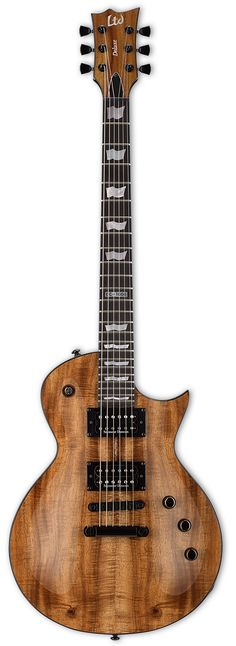 LTD EC-1000 KOA | Custom Koa Wood Electric Guitar