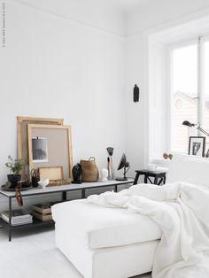 DIY sidetable with IKEA VITTSJÖ tables- Mormorsglamour Skona hem