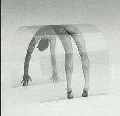 nico kok , curved picture, 1992