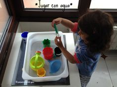actividades jugar agua