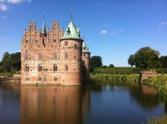 Egeskov Castle in Odense, Denmark #travel