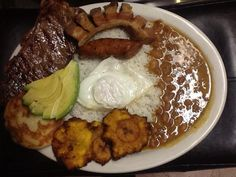 La Colombiana - 2495 Commons Boulevard  Beavercreek, OH. This is a local gem. Fresh ingredients, friendly service and awesome taste. If you are in a hurry, slow down and wait. It's worth it to experience fresh made to order authentic dishes, without having to travel to Columbia.