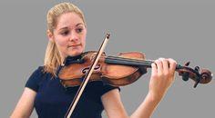 proper violin posture