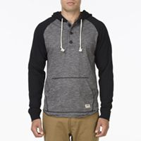 Mead #fashion The Mead is a grindle jersey pullover henley hoodie with solid jersey raglan sleeves.