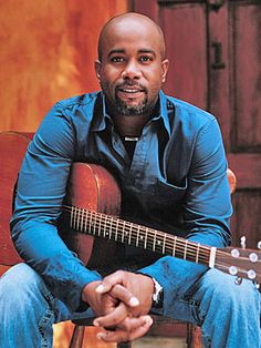 Darius Rucker. A classy, talented guy who does much good for Charleston and the world.