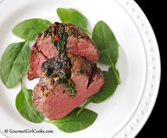 Gourmet Girl Cooks: Stuffed Beef Tenderloin - Easy, Elegant, & Low Carb