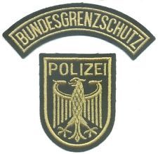 GERMANY GSG9 Counter-Terrorism Police patch, Special Forces, SWAT