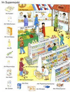 Im Supermarkt | Deutsch lernen