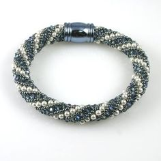 Using the very accessible Russian spiral technique, spoil yourself with 300+ genuine Swarovski Element crystals and pearls. But always remember, a piece of jewelry you make yourself is something more