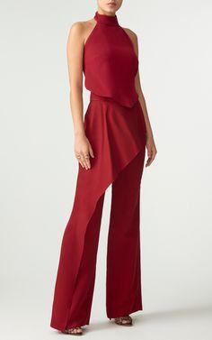 Cronan Silk Top and matching Stella Pants by ELEANOR BALFOUR for Preorder on Moda Operandi