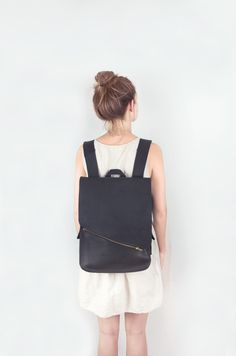 leather minimal bags - April and mayApril and may