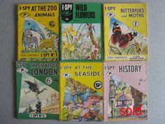 I-Spy books - loved these. I even sent some off to Big Chief I-Spy to get my gold sticker when I had collected enough points. 1970s Childhood, Childhood Toys, Childhood Memories, I Spy Books, My Books, Bird Book, Ol Days, Little Books, Great Memories