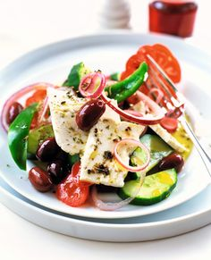 La salade Grecque Horiatiki