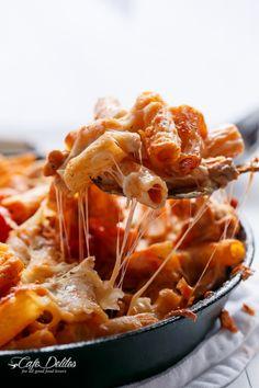 CHEESY CHICKEN AND ROASTED TOMATO MOZZARELLA PASTA BAKE Really  Mein Blog: Alles rund um die Themen Genuss & Geschmack  Kochen Backen Braten Vorspeisen Hauptgerichte und Desserts # Hashtag