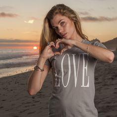 LOVE (big) - Womens Tee Shirt - People's Brand - 1