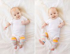 Happy Baby with rainbow socks photo session www.colimaciestudio.com | Colimacie Studio Photographe Sherbrooke Rainbow Socks, Happy Baby, Lifestyle Photography, Photo Sessions, Onesies, Studio, Kids, Clothes, Fashion