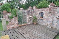 Picture result for Steinmauer Garten Sichtschutz - Garten Ideas Garden Paths, Garden Art, Home And Garden, Garden Fences, Diy Garden, Small Gardens, Outdoor Gardens, Unique Garden, Outdoor Rooms