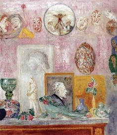 JAMES ENSOR  Souvenirs (1926)