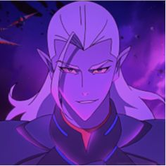 Prince Lotor the evil Galra Prince from Voltron Legendary Defender