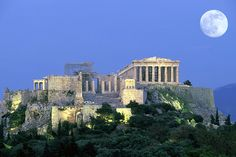 Athens Photos at Frommer's - Acropolis at night, Athens