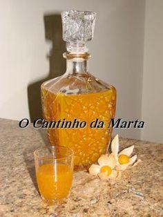 O Cantinho da Marta: Licor de Fisális