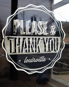 Please and Thank You - (Louisville) delicious breakfasts and lunches (try the savory Asiago, apricot, and jalapeno scone), this cafe-cum-record store boasts an impressive collection of vinyl, a self-service turntable, and a listening booth