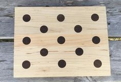 If you love polka dots, you need to get this cutting board. It's so pretty it can double as a serving platter. How cute would a scrumptious cake look on this? Cake Platter, Charcuterie Board, Serving Platters, Dessert Table, Cutting Board, Kitchen Decor, Great Gifts, Polka Dots, Birthday Parties