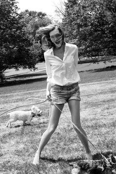 Karlie Kloss by Gabrielle Revere for LIFEMagazine