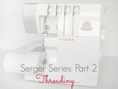 How to thread a serger at www.makery.uk