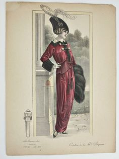 Collecting Antique French Fashion Prints