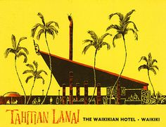 Tiki Lanai, The Waikikian Hotel, Waikiki, Hawaii