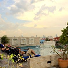 Beautiful sunset view from the Rooftop Swimming Pool of Chillax Resort. Website: http://ift.tt/1RNf9j7 Email: rsvn@chillaxresort.com #chillaxresort #chillax #resort #hotel #boutiquehotel #Luxuryhotel #khaosanroad #Bangkok #thailand #instabangkok #instathailand #igbangkok #igthailand #swimmingpool #pool #rooftoppool #loveit #luxuryhotel #Luxuryaward #winner #travelaward #romantichotel