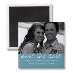 save the date magnet #wedding