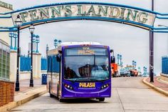 If you wish to see any, some, or all of Philadelphia's most iconic sites, the hop-on-hop-off purple Phlash bus is wildly efficient and economical — an all-day pass is $5. The bus stops at 20 of the city's most important places, including museums, Eastern State Penitentiary, Chinatown, and the Reading Terminal Market (where you should divert for the best grilled cheese ever, at Melt).