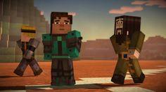 Minecraft Story Mode Episode 7 Part 1