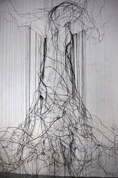 wire scultpure by David Oliveira  http://davidmigueloliveira.blogspot.com/