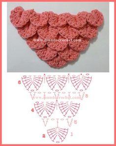 Image result for crochet bufandas patrones