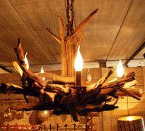 Chandelier Old Wood