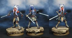 Image result for Star Wars: Imperial Assault - Ahsoka Tano Ally Pack
