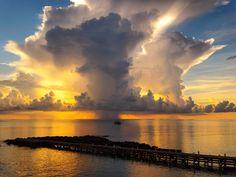 A Cayman Islands sunset to beat all sunsets by photographer Steve Joscelyn #Caribbean
