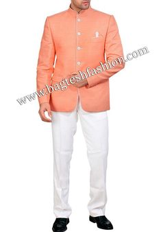 Latest Party Wear Jodhpuri Suit White Linen Trousers, Royal Weddings, Pocket Square, Linen Fabric, All About Fashion, Party Wear, Mens Suits, Gifts For Him, Men's Clothing