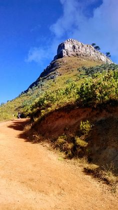 #hiking up Lion's Head