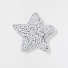 STAR CROCHET CUSHION - Cushions - Bedroom | Zara Home Sweden