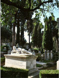 Il cimitero acatollico di Testaccio
