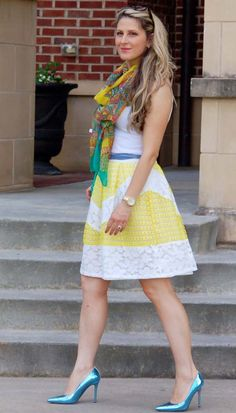 Spring and summer outfit from TeodorasLookbook.com