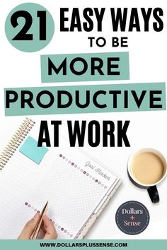 Do you ever finish your day feeling like you weren't able to accomplish everything on your To-Do List? I understand, being productive and managing your time can be very difficult.   In order to get more done without burning out, you need to work smarter -not harder. You need to structure your time more effectively and make a daily plan.  Not every day will be a perfect day. But if you follow some of the tips in this article, you will find yourself being more productive at work without burnout. Retirement Advice, Saving For Retirement, Early Retirement, Earn Money From Home, Earn Money Online, Best Online Jobs, Financial Organization, Work Goals, Multiple Streams Of Income